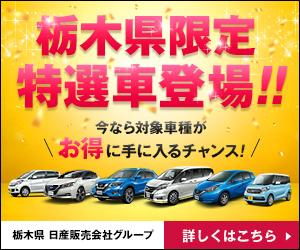 栃木県限定特選車登場!!|栃木県 日産販売会社グループ